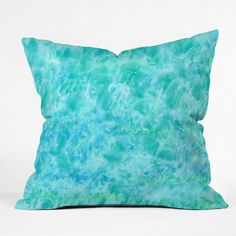 Rosie Brown Sparkling Sea Throw Pillow | DENY Designs Home Accessories   #pillow #throwpillow #homedecor #denydesigns #art #sea #ocean