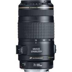 #5: Canon EF 70-300mm f/4-5.6 IS USM Lens for Canon EOS SLR Cameras