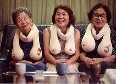 the boob scarf :))