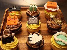 High-end Fashion Cupcakes!