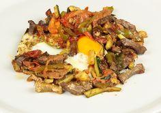 Recette Chakchouka bel kebda de la cuisine Tunisienne