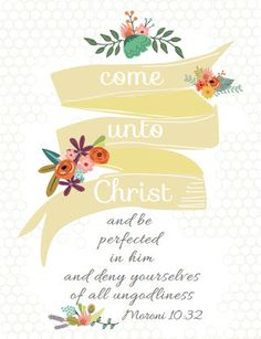 Come unto Christ - 2014 Mutual Poster