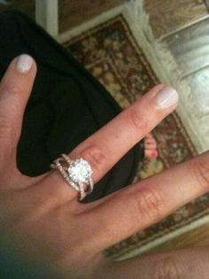 A 3 band wedding ring. Ecc 4:12  a cord of 3 strands is not quickly broken. God, husband and wife.