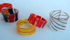 Crafts & DIY: How to make Shrinky Dinks with recycled #6 plastic.