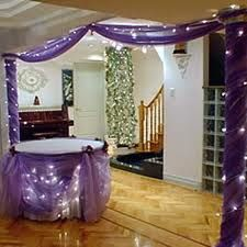 purple tulle