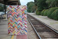 Bluprint Textiles: Chevron Quilt