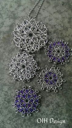 Outi Helin #Chainmaille