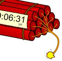 The best classroom timers. Can be made full screen. Great for interactive whiteboards.