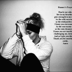 Runners prayer Runner Prayer