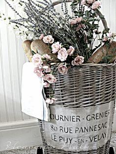 gorgeous French market basket...