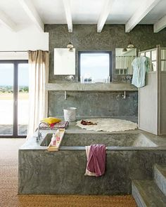 Beautiful home in Spain - open space & amazing textures and textile