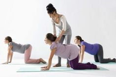 Pregnant exercises for the back