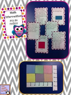 Area and Perimeter Intervention Activities
