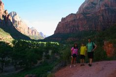 hiking Zion National Park- Family Travel - Today's Creative blog