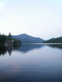 one of my favorite places. Lake Placid, New York.