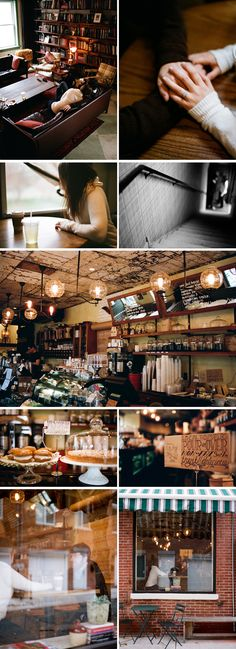 coffee shop love.  cute...unless you are still in H.S., then hey!....knock that crap off!  love the rustic look of the shop!