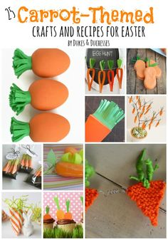 25 Carrot-Themed Crafts and Recipes for Easter - Dukes & Duchesses
