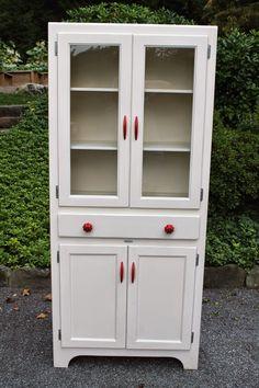 Elizabeth & Co.: Classic Red & White Cabinet
