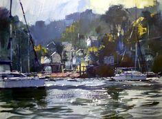 Chris Forsey talks about the inspiration behind his painting of Warfleet.