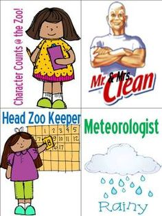 Hurry get your download for just $1.00!  Wild About Learning Theme Classroom Jobs!