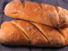 Traditional Artisan Style Baguette - Rustic French Bread. Photo by Papa D 1946-2012