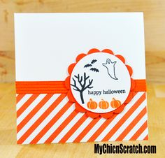 Holiday Home Halloween Card http://www.mychicnscratch.com/2014/09/holiday-home-halloween-card.html