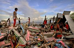 Typhoon Haiyan, the horrible aftermath.