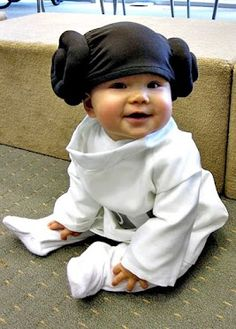 D.I.Y. BABY PRINCESS LEIA COSTUME