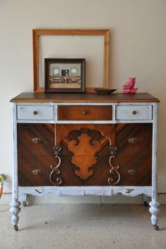 Fab Rehab Creations: Jacobean Style Dresser