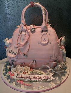 Ultimate Baby Bag~ Baby Shower Cake