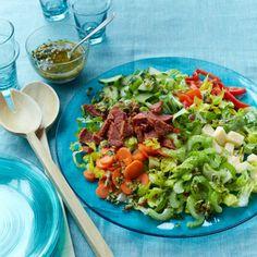 Muffaletta Cobb Salad