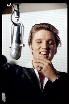 Elvis Presley, Summer 1956. Photo by Alfred Wertheimer.