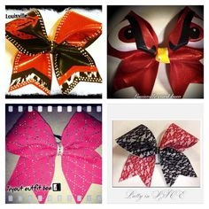 My University of Louisville bows<3