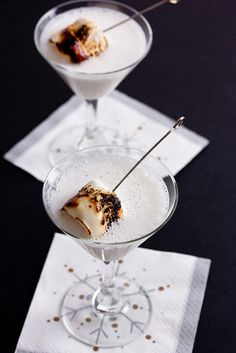 Christmas Campfire Martini