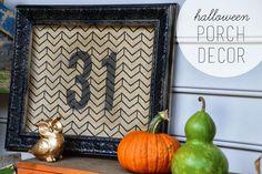 east coast, pallet porch, halloween decor, fall diy, porch decor