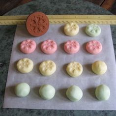 Mother's Day, baby showers, bridal showers. Wouldn't these easy cream cheese mints be perfect?