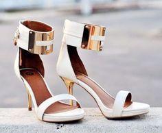 WHITE & GOLD #DressUpPartyDown