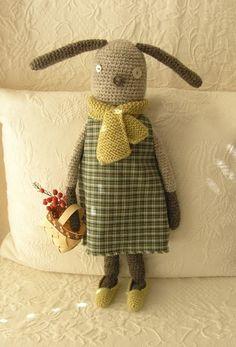 #crochet #softie #doll