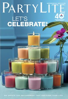 #PartyLite Winter/Spring 2013 catalog