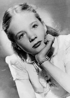 Julie Andrews, c. 1940s.