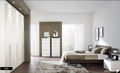 Modern and Cute Bedrooms Design with Modern Concept grey