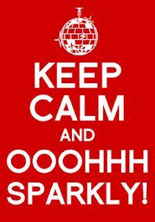 Sparkly... Haha my life <3