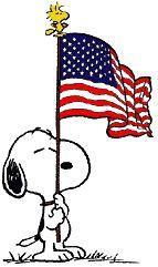 Patriotic Snoopy!