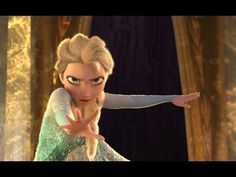 FROZEN - Let It Go Sing-along | Official Disney HD - YouTube
