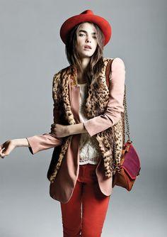 Mezcla de colores y estampados para enfrentar el invierno con mucho estilo. Moda Otoño Invierno