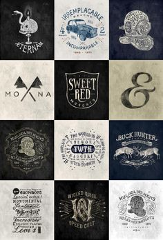 Hand Drawn Brand Marks by BMD