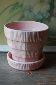 Pink Vintage McCoy Planter
