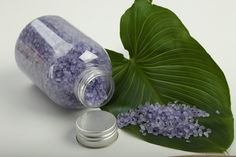 How to Make Bath Salts - DIY - for gift giving, or keep for yourself!