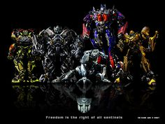 Transformers! Need I saw more?