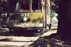 The St. Charles Avenue Streetcar in New Orleans
